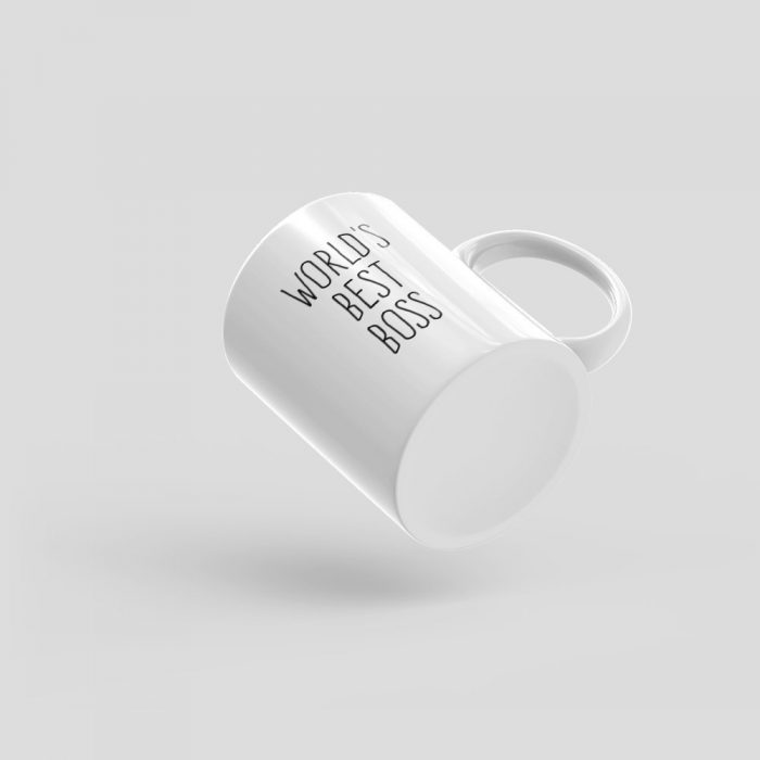 Mutative Mugs - World's Best Boss Mug - Bottom View