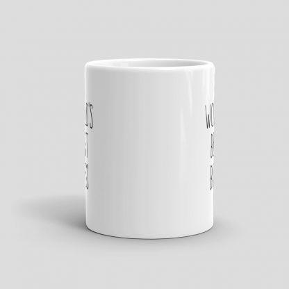 Mutative Mugs - World's Best Boss Mug - Front View