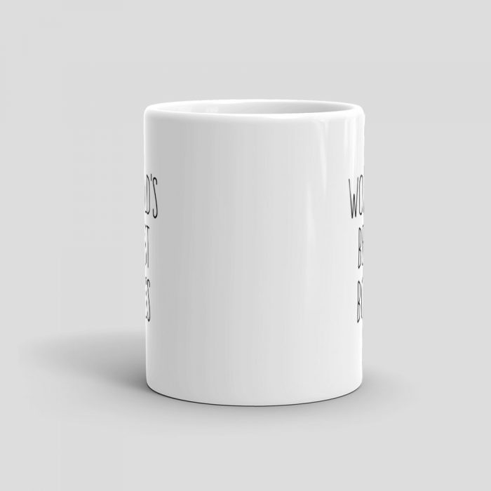 Mutative Mugs - World's Best Boss Mug - Front View