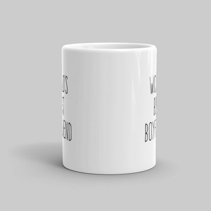 Mutative Mugs - World's Best Boyfriend Mug - Front View