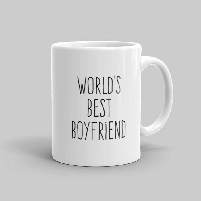 Mutative Mugs - World's Best Boyfriend Mug - Right View