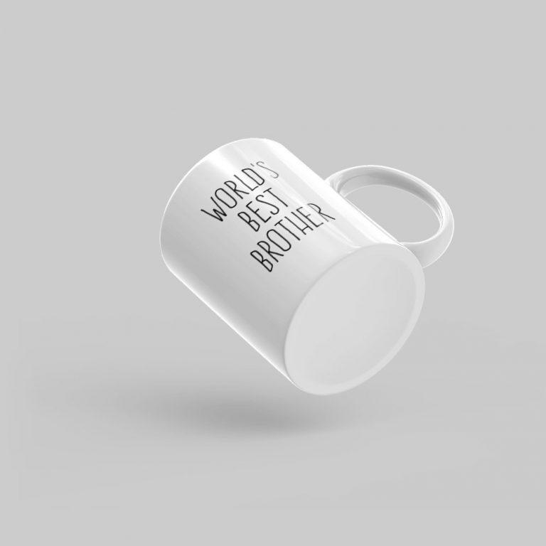 Mutative Mugs - World's Best Brother Mug - Bottom View