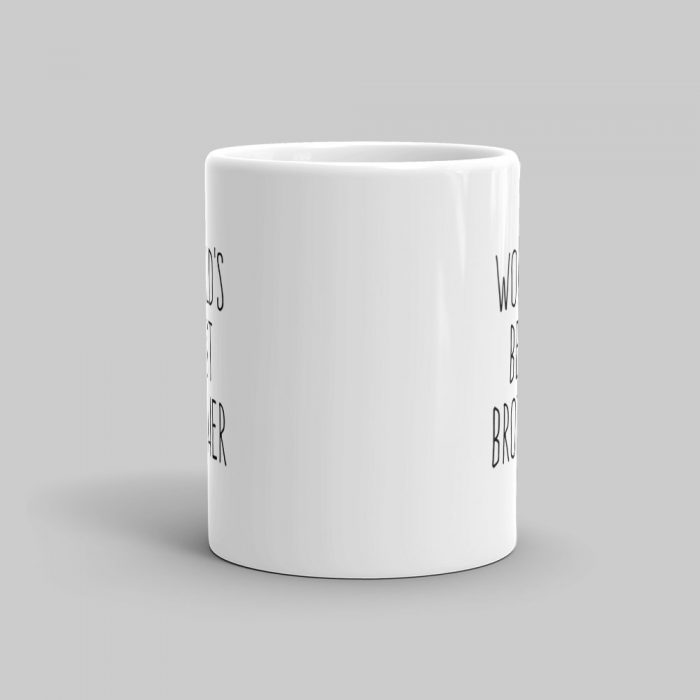Mutative Mugs - World's Best Brother Mug - Front View