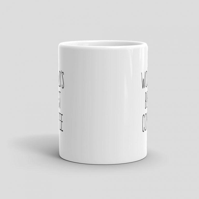 Mutative Mugs - World's Best Coffee Mug - Front View