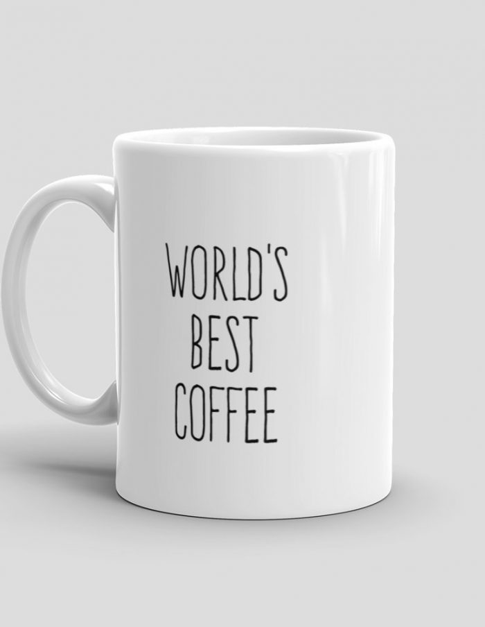 Mutative Mugs - World's Best Coffee Mug - Left View