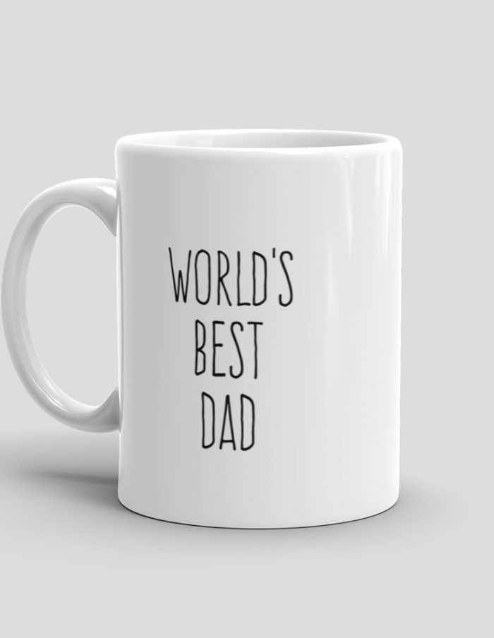 Mutative Mugs - World's Best Dad Mug - Left View