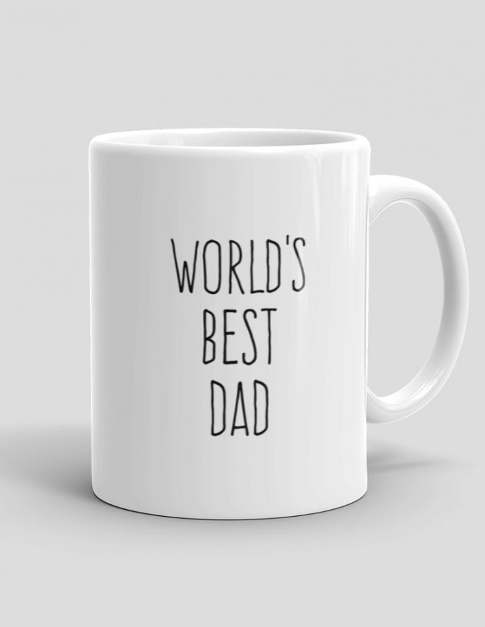 Mutative Mugs - World's Best Dad Mug - Right View