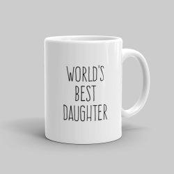 Mutative Mugs - World's Best Daughter Mug - Right View
