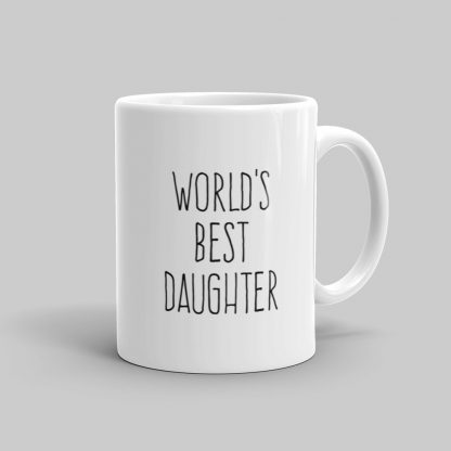 Mutative Mugs - World's Best Daughter Mug - Right View
