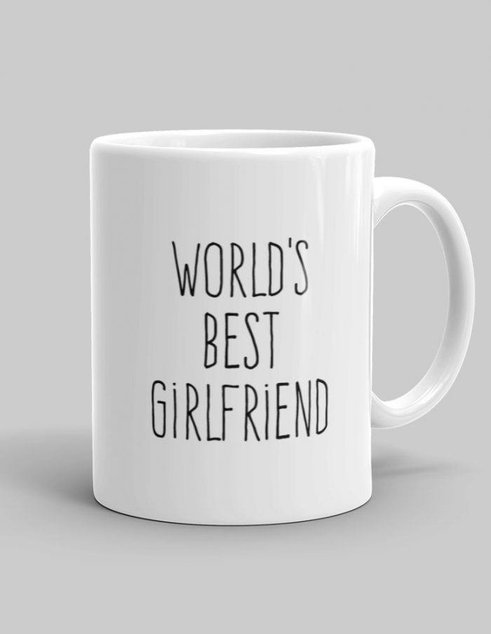 Mutative Mugs - World's Best Girlfriend Mug - Right View