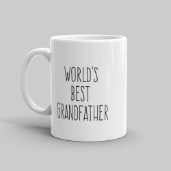 Mutative Mugs - World's Best Grandfather Mug - Left View