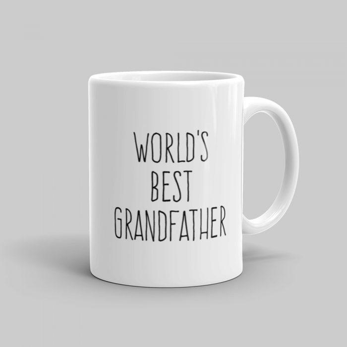 Mutative Mugs - World's Best Grandfather Mug - Right View