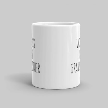 Mutative Mugs - World's Best Grandmother Mug - Front View