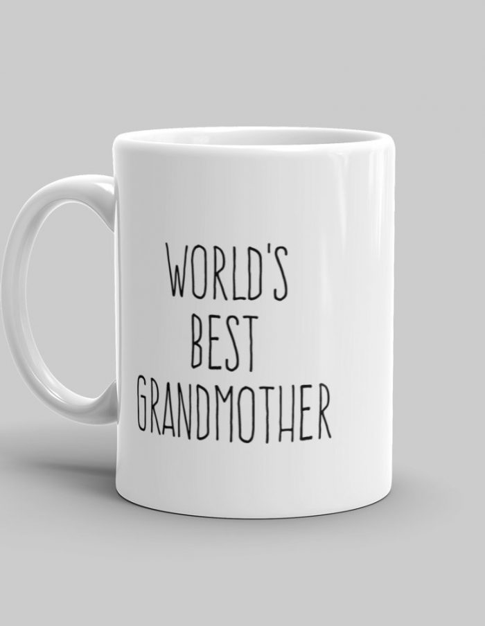 Mutative Mugs - World's Best Grandmother Mug - Left View