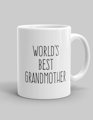Mutative Mugs - World's Best Grandmother Mug - Right View