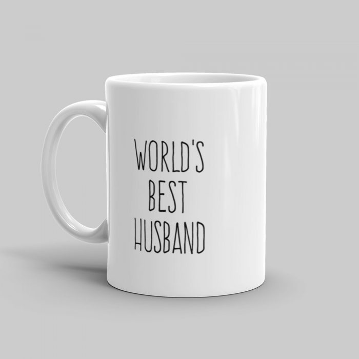 Mutative Mugs - World's Best Husband Mug - Left View