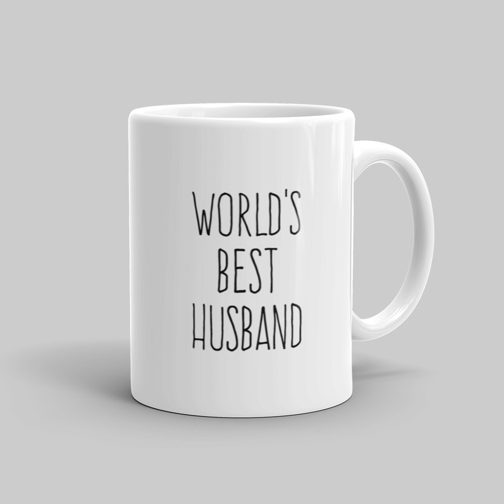 Mutative Mugs - World's Best Husband Mug - Right View