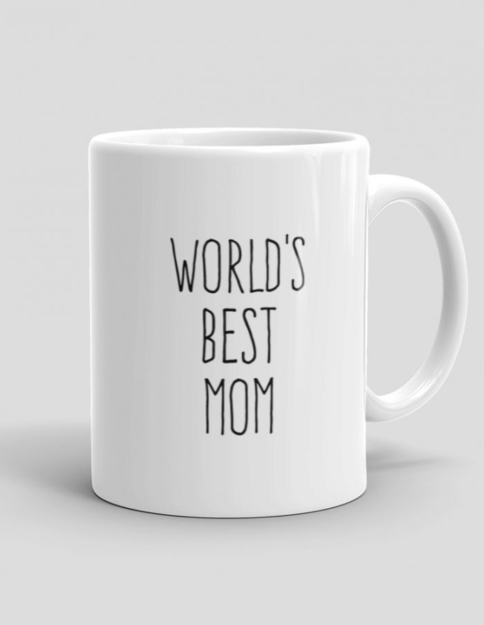 Mutative Mugs - World's Best Mom Mug - Right View
