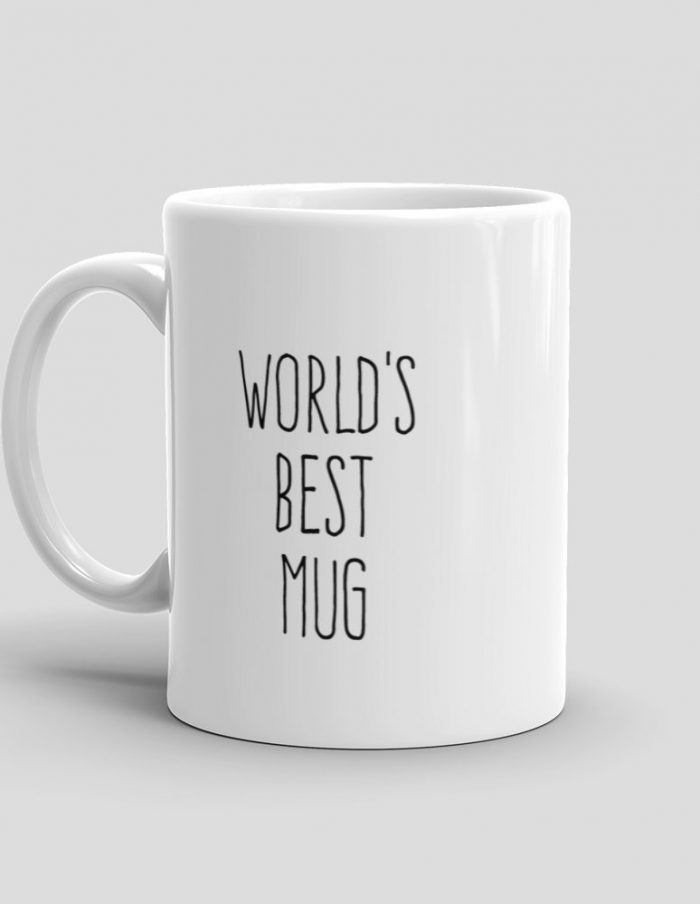 Mutative Mugs - World's Best Mug Mug - Left View