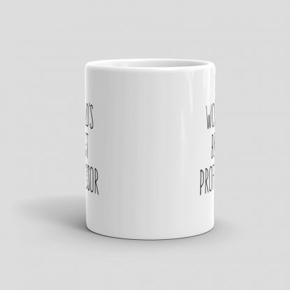 Mutative Mugs - World's Best Professor Mug - Front View