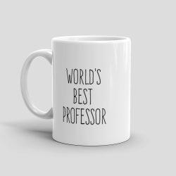 Mutative Mugs - World's Best Professor Mug - Left View