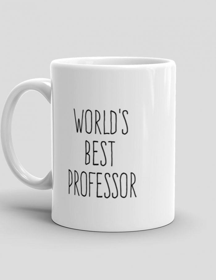 Mutative Mugs - World's Best Professor Mug - Left View