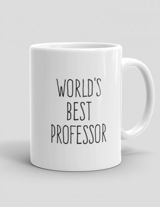 Mutative Mugs - World's Best Professor Mug - Right View