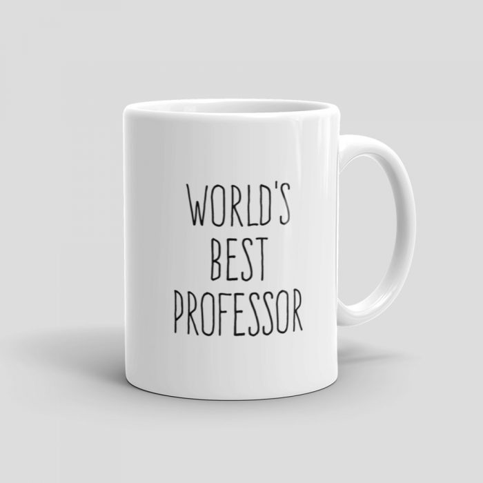 Mutative Mugs - World's Best Professor Mug - Right View
