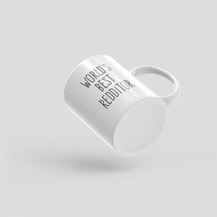 Mutative Mugs - World's Best Redditor Mug - Bottom View