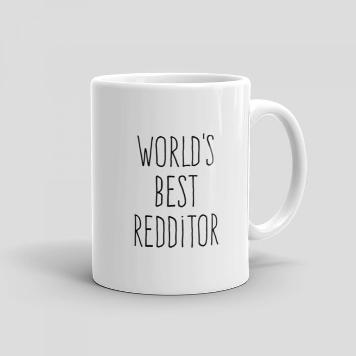Mutative Mugs - World's Best Redditor Mug - Right View