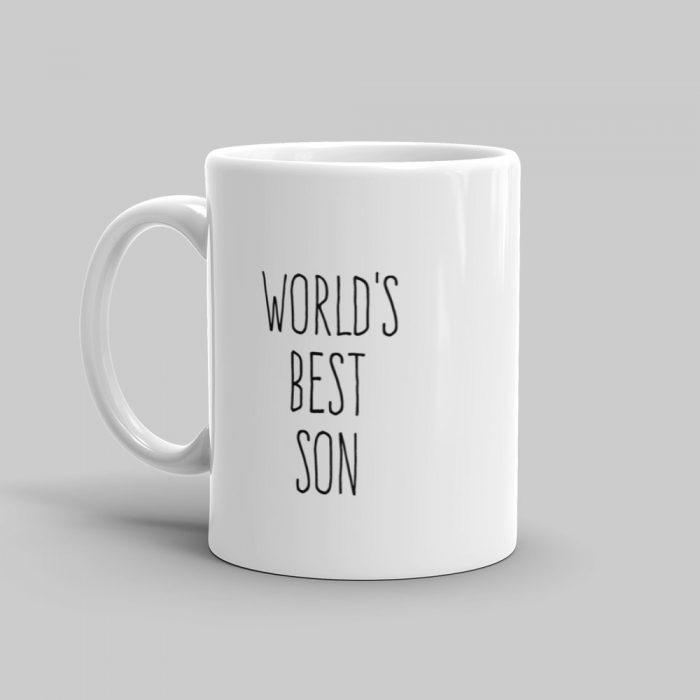 Mutative Mugs - World's Best Son Mug - Left View