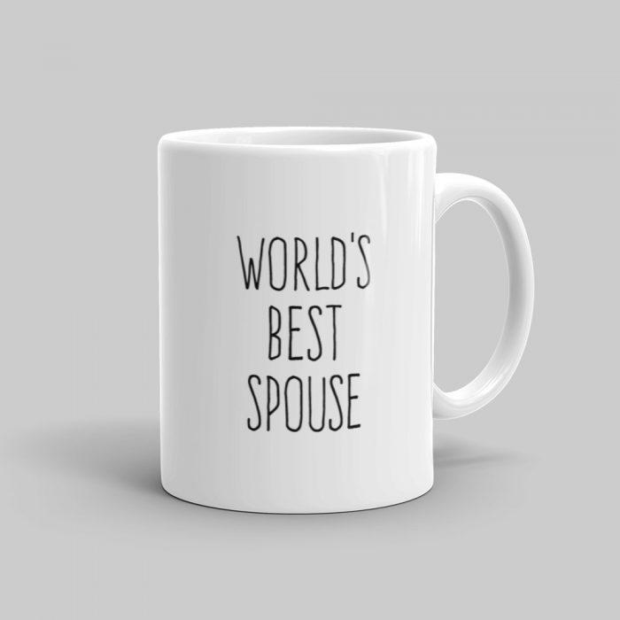 Mutative Mugs - World's Best Spouse Mug - Right View