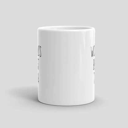 Mutative Mugs - World's Best Tea Mug - Front View