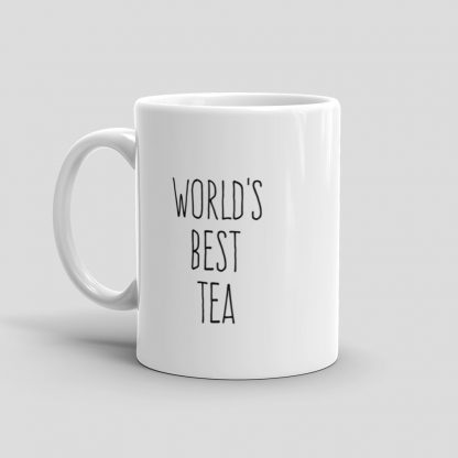 Mutative Mugs - World's Best Tea Mug - Left View