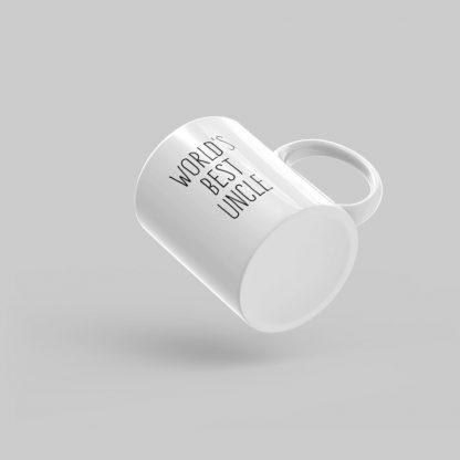 Mutative Mugs - World's Best Uncle Mug - Bottom View