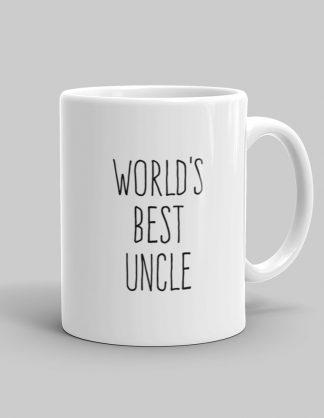 Mutative Mugs - World's Best Uncle Mug - Right View