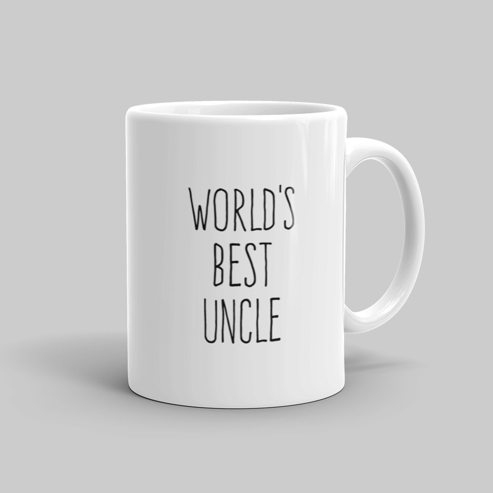Mutative Mugs - World's Best Uncle Mug - Right View