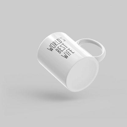 Mutative Mugs - World's Best Wife Mug - Bottom View