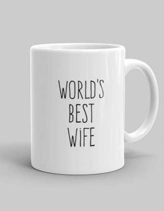 Mutative Mugs - World's Best Wife Mug - Right View